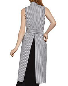 BCBGENERATION - Striped Long Vest