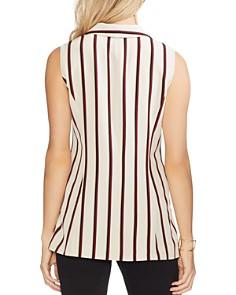 VINCE CAMUTO - Caravan-Stripe Double-Breasted Vest