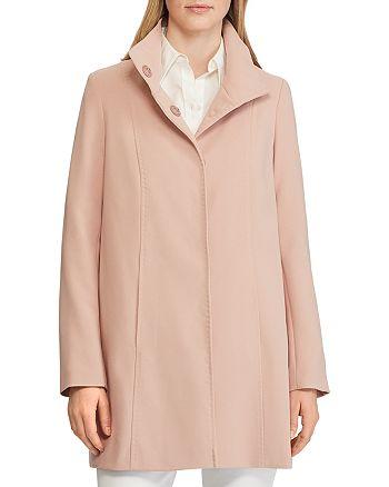 Ralph Lauren - A-Line Crepe Coat