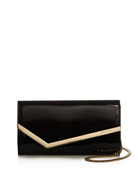 Jimmy Choo - Emmie Small Patent Leather Crossbody