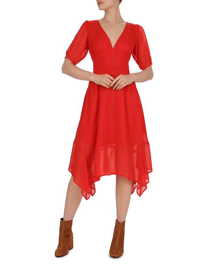 The Kooples - Georgette Midi Dress