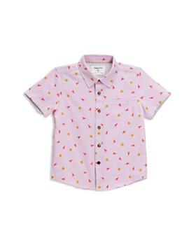 Sovereign Code -  Boys' Sunny Lobster Camp Shirt - Little Kid, Big Kid