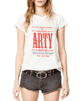 8d7b95969 Zadig & Voltaire Women's Tops: Graphic Tees, T-Shirts & More ...