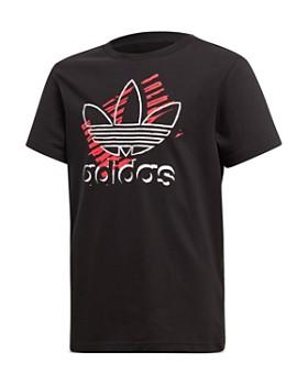 Adidas - Girls' Trefoil Art Tee - Big Kid