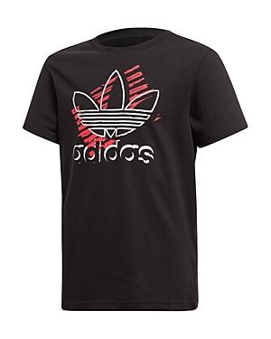Adidas Unisex Trefoil Art Tee - Big Kid