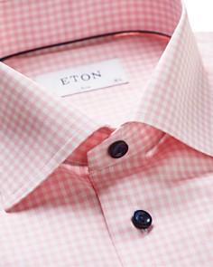 Eton - Check Slim Fit Dress Shirt