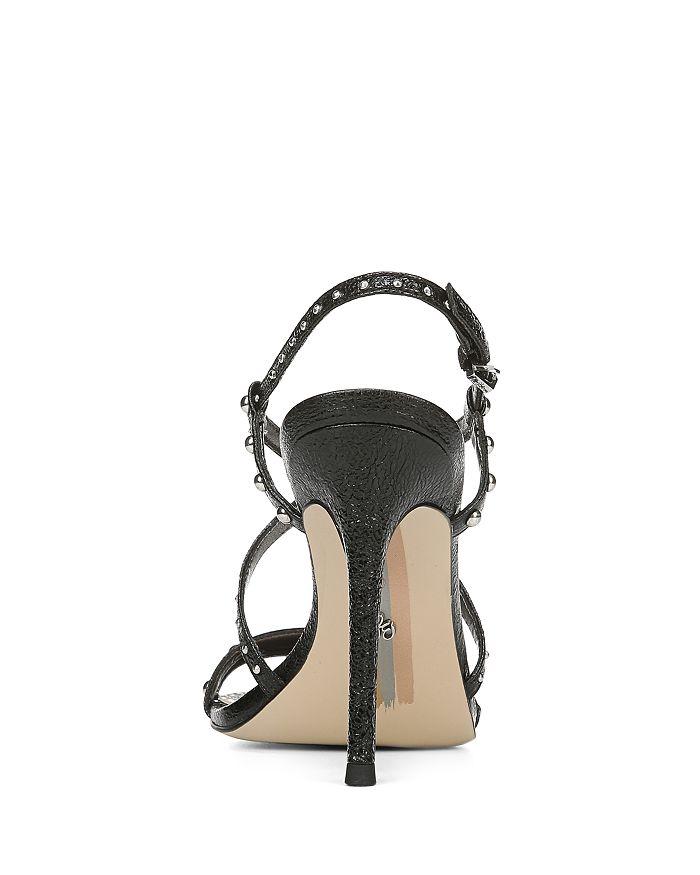 9cb964fa1 Sam Edelman - Women s Lennox Studded Metallic Leather High-Heel Sandals