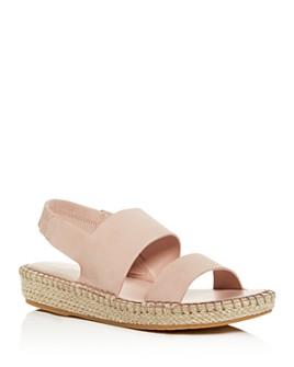 Cole Haan - Women's Cloudfeel Slingback Platform Espadrille Sandals