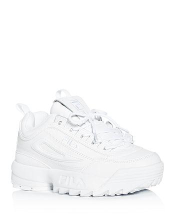 FILA - Women's Disruptor II Premium Low-Top Sneakers