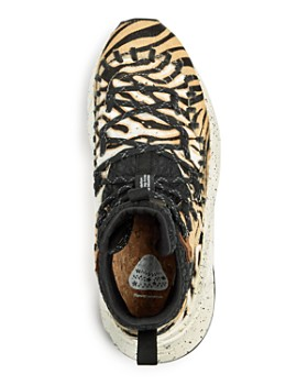 Flower Mountain - Men's Mohican Calf hair Mid-Top Sneakers