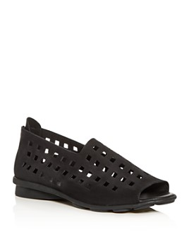 Arche - Women's Drick Perforated Open-Toe Flats