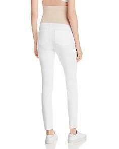 NYDJ - Maternity Skinny Jeans in Optic White