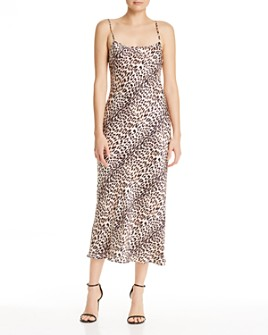 Bec & Bridge - Feline Silk Midi Dress