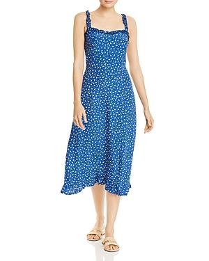 Faithfull The Brand Dresses FAITHFULL THE BRAND NOEMIE FLORAL MIDI DRESS