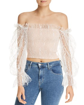 Alice McCall - After Dark Lace Top