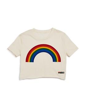 Play Six - Girls' Rainbow Boxy Tee - Little Kid