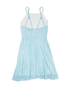 Miss Behave - Girls' Dot Sleeveless Dress - Big Kid