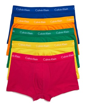 Calvin Klein - Pride Low Rise Trunks, Pack of 5