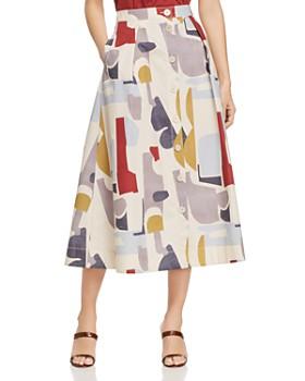 Lafayette 148 New York - Orly Printed Midi Skirt