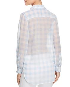Calvin Klein - Semi-Sheer Gingham Shirt