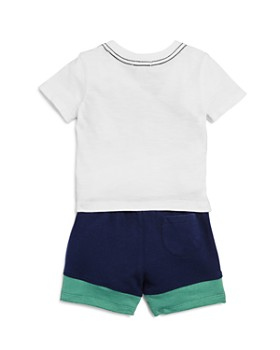 Splendid - Boys' Reverse-Stripe tee & Board Shorts Set - Baby