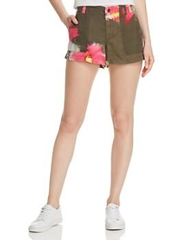 PAM & GELA - Floral Cargo Shorts