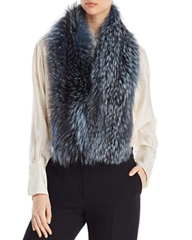 735cf9d34f9 Maximilian Furs - Airgallon Fox Fur Scarf - 100% Exclusive ...