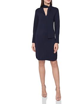 908ed9890f REISS - Mirela Tie-Neck Dress ...