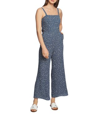 Image of 1.state Afternoon Bouquet Printed Jumpsuit