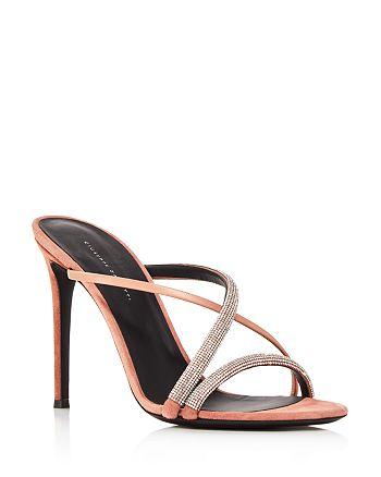 Giuseppe Zanotti - Women's PF19 Crystal-Embellished High-Heel Sandals - 100% Exclusive