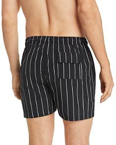 Solid & Striped - Pinstripe Swim Shorts