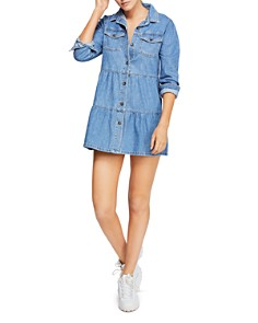 Free People - Nicole Denim Shirt Dress