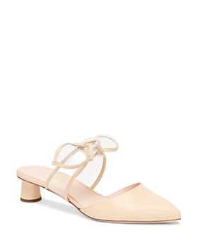 Loeffler Randall - Women's Maira Patent Leather Round-Heel Mules
