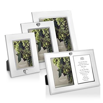 Wedgwood - Silver Vera Love Always Frame Collection