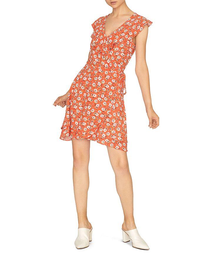 Sanctuary - Johanna Floral Wrap-Front Dress