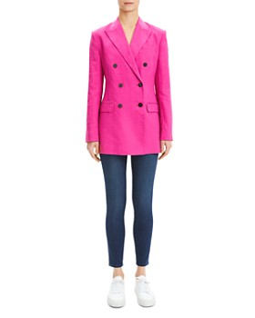 Theory - Tailored Linen Jacket