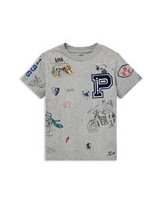 Ralph Lauren - Boys' Varsity Graphic Tee - Little Kid