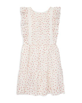 Ralph Lauren - Girls' Floral Ruffled Dress - Big Kid