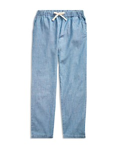 Ralph Lauren - Girls' Chambray Pants - Big Kid