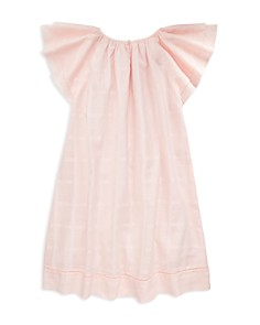 Ralph Lauren - Girls' Flutter-Sleeve Dress - Big Kid