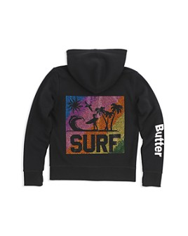 Butter - Girls' Surf Sweatshirt - Little Kid, Big Kid