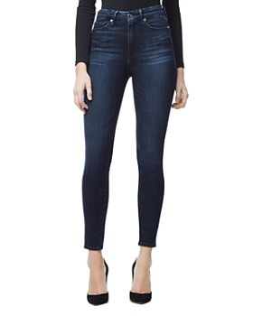 Good American - Good Waist Crop Skinny Jeans in Blue 025