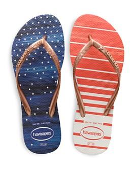 havaianas - Women's Slim USA Watercolor Flip-Flops