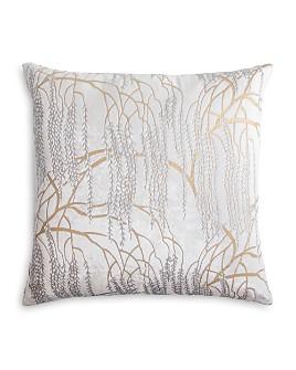 "Kevin O'Brien Studio - Metallic Willow Velvet Decorative Pillow, 18"" x 18"""
