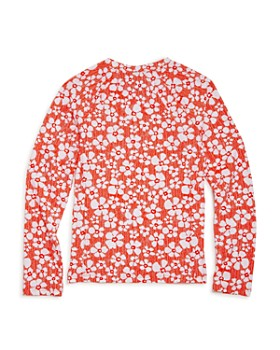 Splendid - Girls' Long Sleeve Rash Guard Top, Big Kid - 100% Exclusive