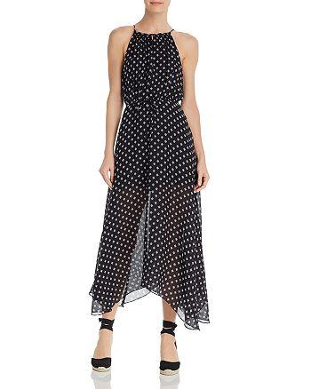 Joie - Matalina Silk Illusion-Hem Dress