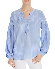 Joie - Azabeth Striped Popover Top