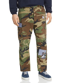 ATELIER AND REPAIRS - Woodland Camo Cargo Regular Fit Pants - 100% Exclusive