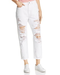 DL1961 - Susie Shredded High-Rise Jeans in Cole