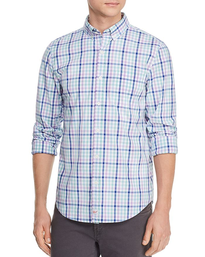 Vineyard Vines - Hawksbill Tattrsll Plaid Slim Fit Button-Down Shirt